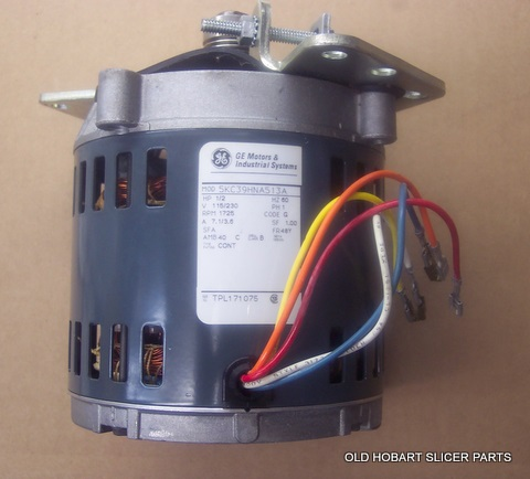 HOBART 2612,2712,2812,2912 NEW REPLACEMENT KNIFE DRIVE MOTOR on start capacitor wiring diagram, hobart mixer motor parts, hobart a200 parts diagram,